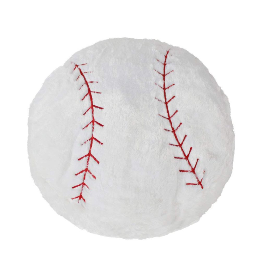 CatchStar Stuffed Baseball Pillow
