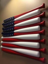 baseball-flag-made-of-wooden-bats