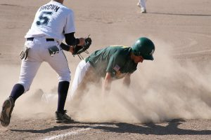 baseball-player-sliding