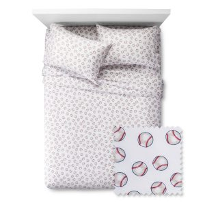 baseball sheet set