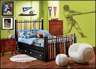 Here Are Some Pictures Of Baseball Themed Bedrooms That Can Give You More Ideas Ways To Creatively Incorporate Items Into Your Bedroom