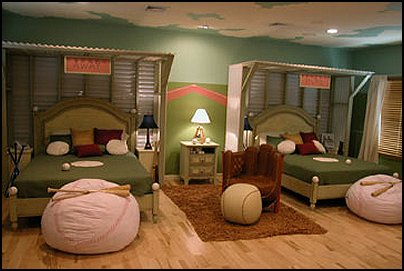 Interior Baseball Bedroom Ideas baseball themed bedroom ideas with big pillows glove