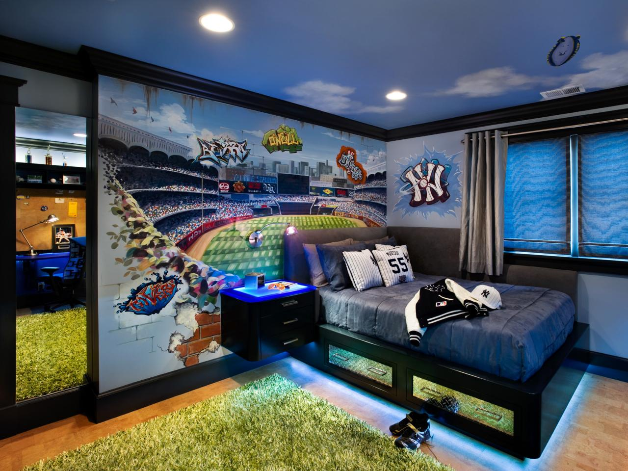 Interior Baseball Bedroom Ideas themed bedroom ideas baseball ideas