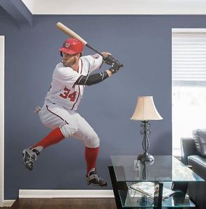 Bryce Harper wall decal