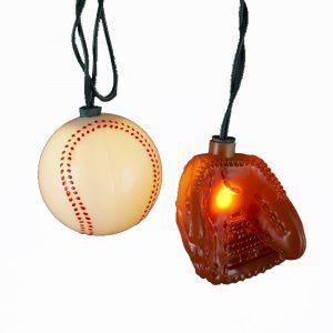 Kurt Adler ball and glove lights
