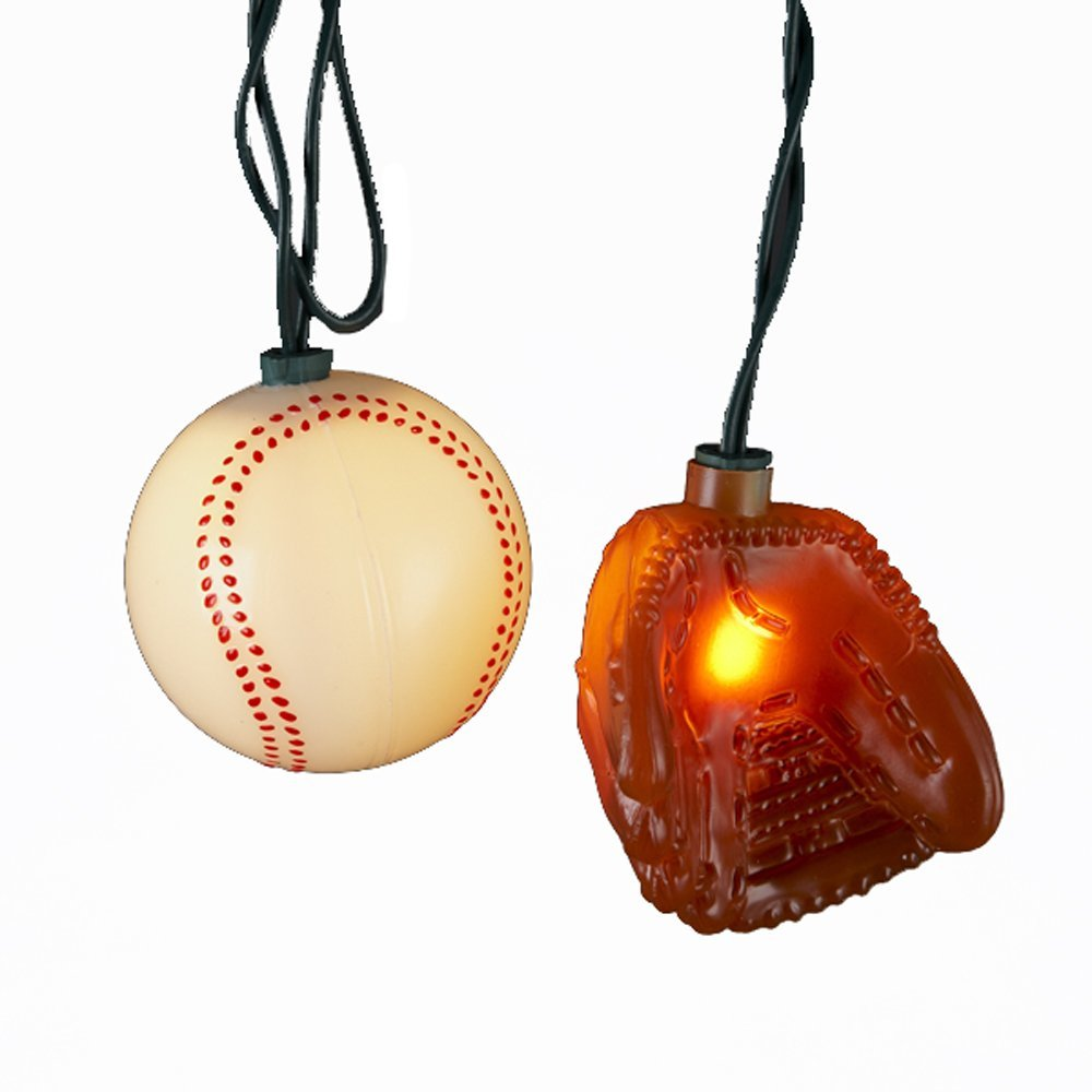Baseball Christmas and Hanukkah Decorations