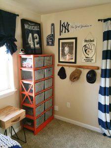 baseball-bat-hat-rack-and-shelf-idea