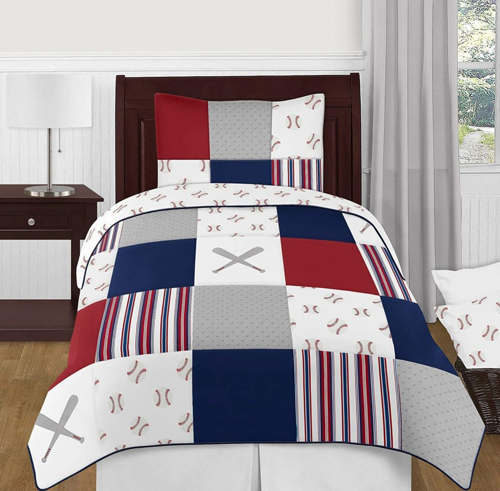 sweet dojo designs baseball bedding