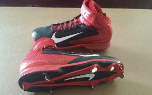 used-baseball-cleats