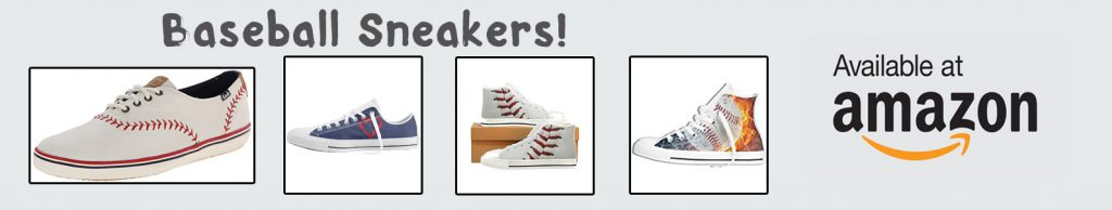 amazon baseball sneakers banner