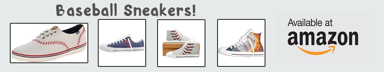 amazon baseball sneakers banner