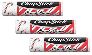 candy cane chapstick