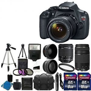Canon EOS Rebel T5 digital bundle