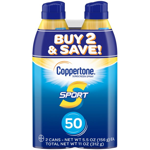 coppertone spf 50 sport sunscreen