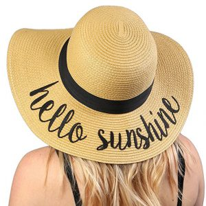 hello sunshine sun hat
