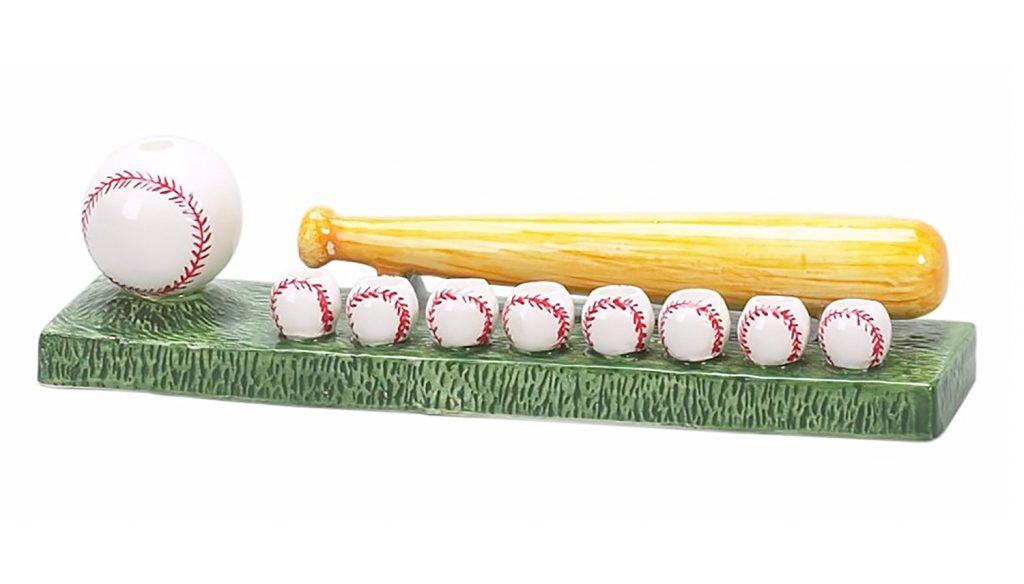 baseball hanukkah menorah