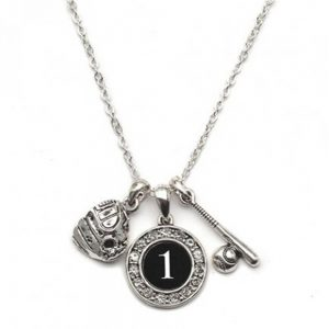 custom player jersey id necklace