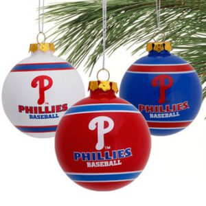 mlb phillies ornaments