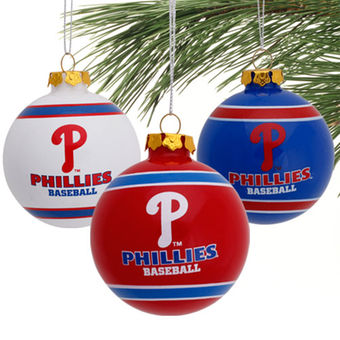 mlb phillies ornaments
