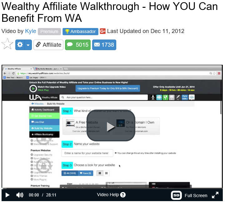 How you can benefit from Wealthy Affiliate