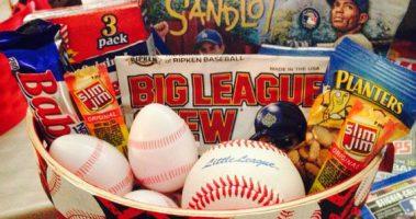 Make a Baseball Easter Basket for Your Baseball Fan