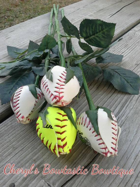 baseball roses