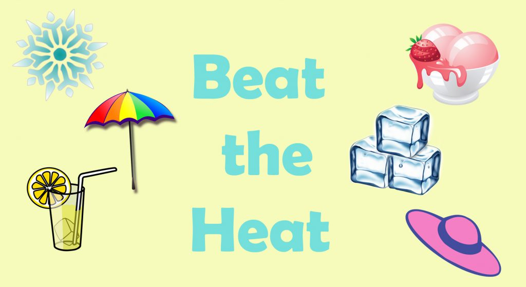 beat the heat header