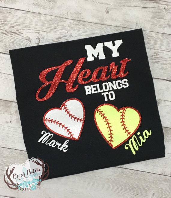 my heart belongs to tshirt