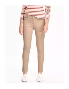 pixie long mid rise pants