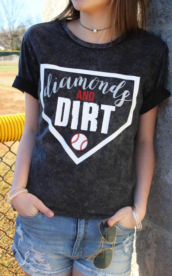 diamonds and dirt tshirt