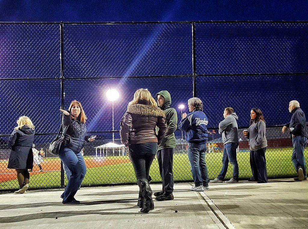 Playing Fall Baseball