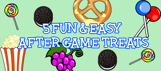 5 fun easy after game team treats green