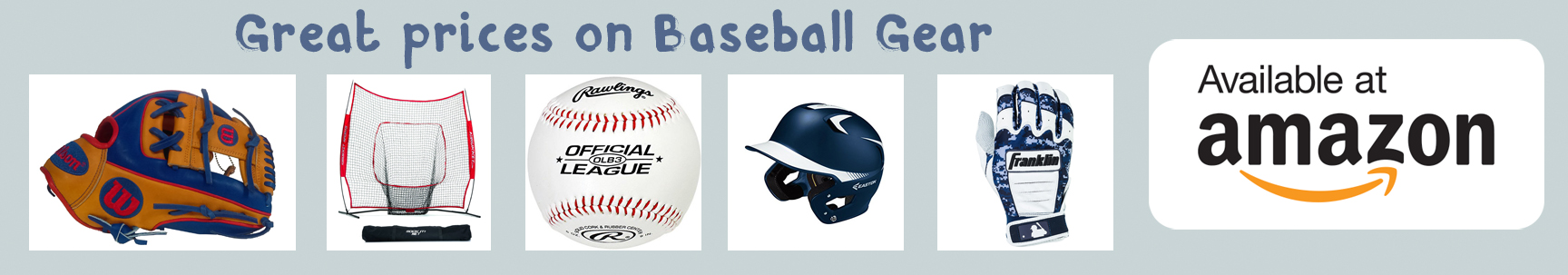 amazon baseball gear banner