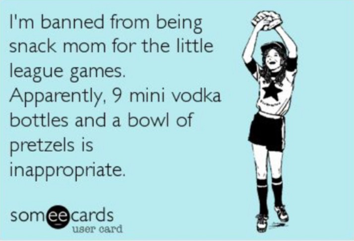 banned from snack mom 1 10 funniest baseball parent memes on the internet