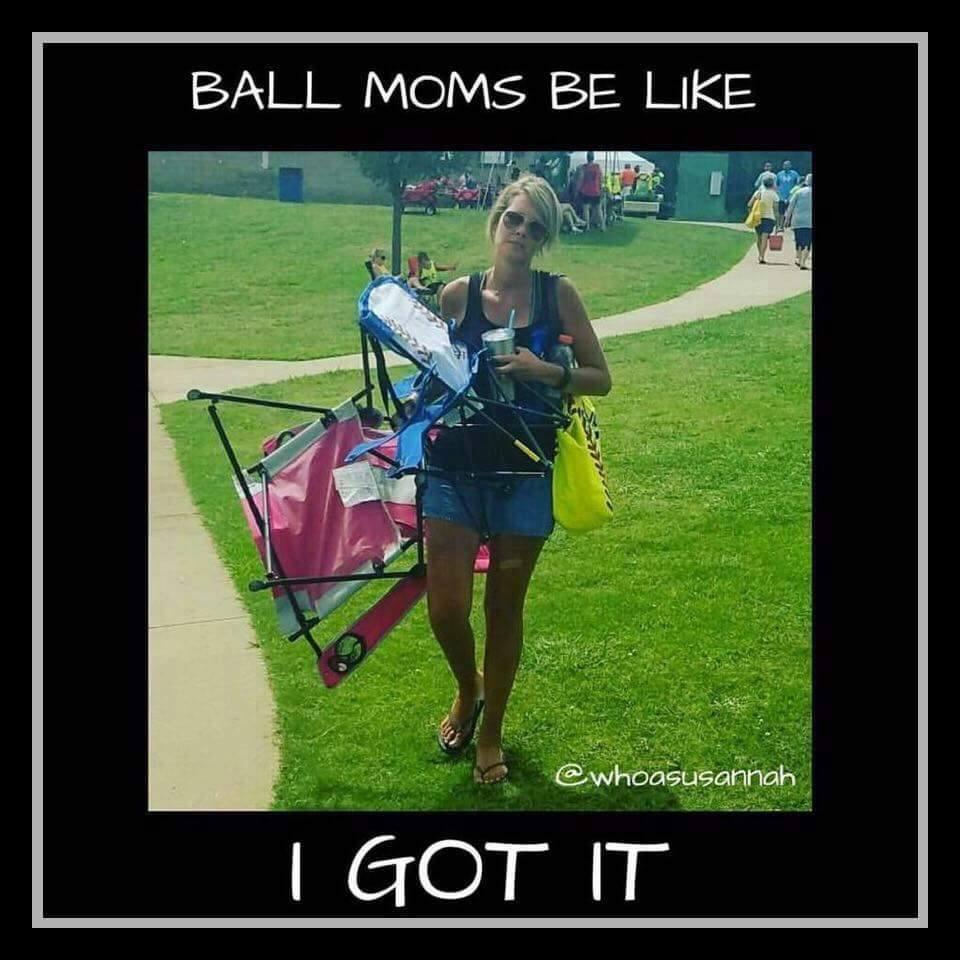 baseball moms be like i got it