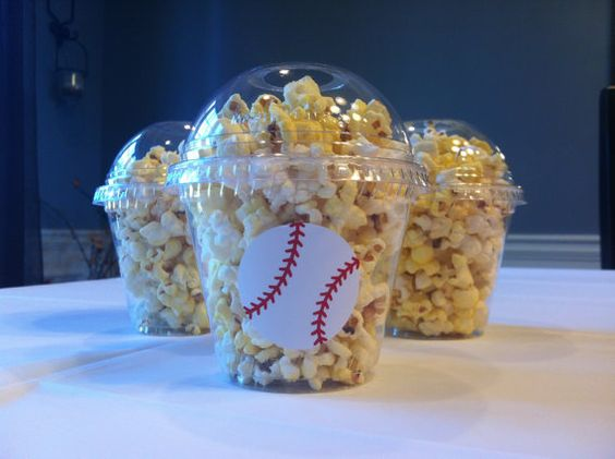 personalized popcorn snack cups