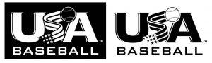 usabat logo black&white