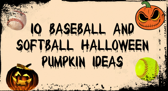 10 baseball and softball halloween pumpkin ideas - Pumkin Ideas