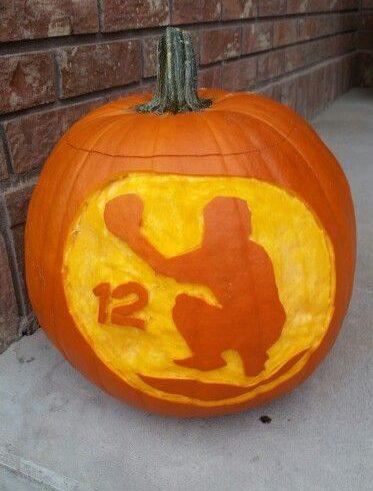 10 Baseball And Softball Halloween Pumpkin Ideas