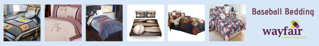 wayfair baseball bedding banner thin blue lighter