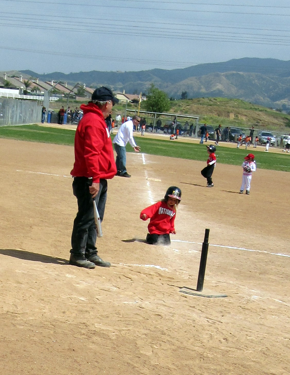 premature baseball slide