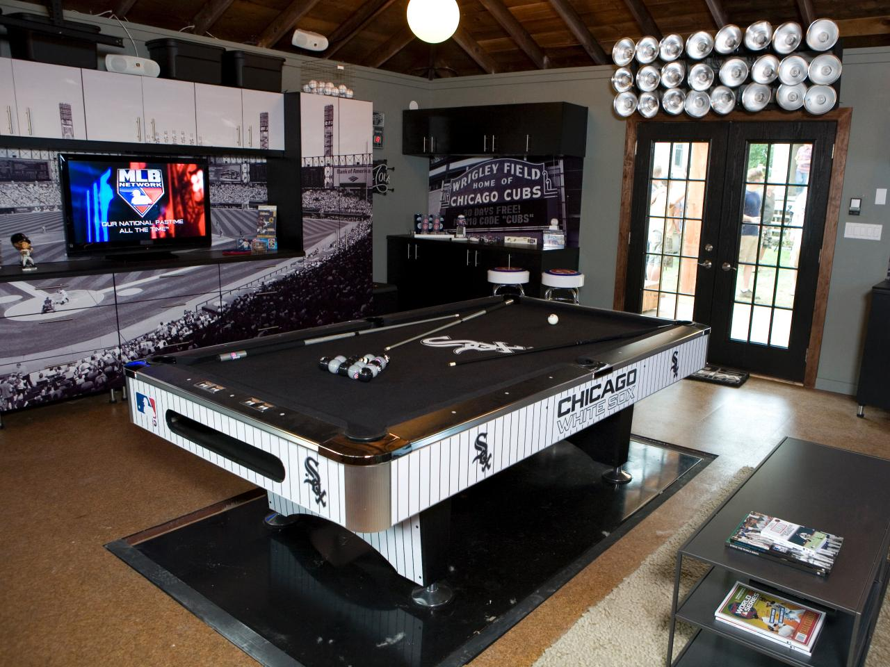 Baseball Mancave White Sox