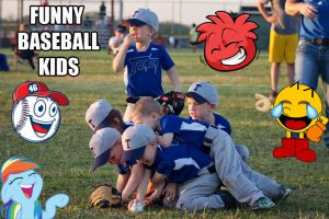 35 of the Funniest Baseball Kid Pics