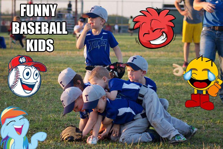 funny baseball kids banner
