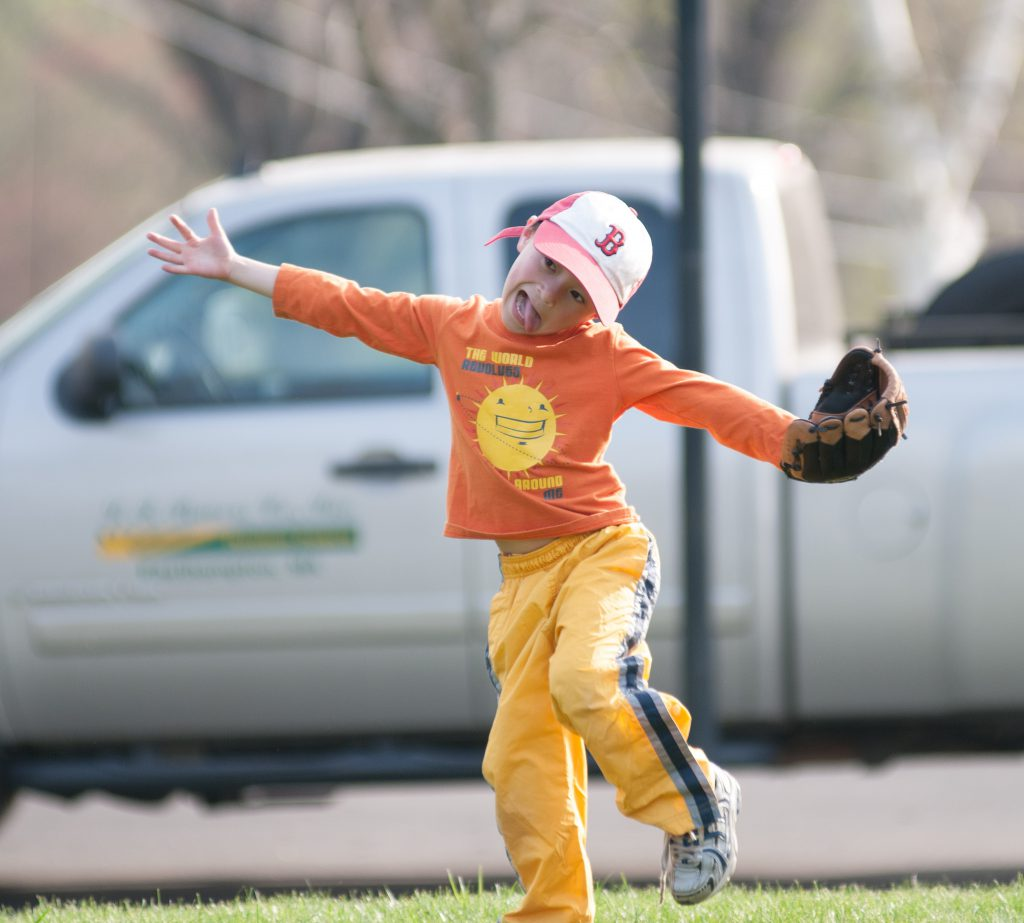 Funny Things Kids Do On The Baseball Field