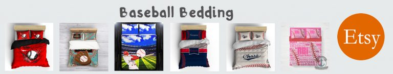 etsy baseball bedding banner