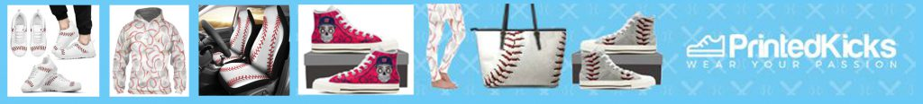 printed kicks baseball items banner