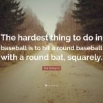 ted williams quote