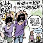 crazy baseball parent comic