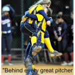 behind every great pitcher is a great catcher
